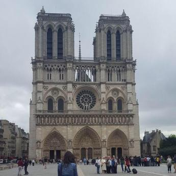 Images of Notre Dame Cathedral from our 2016 Europe Trip (July 2016)